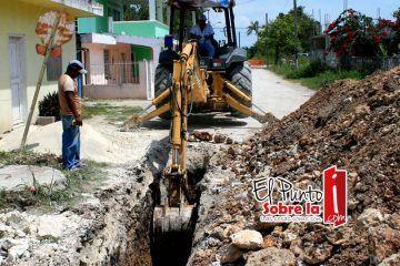 Amplían red de Agua Potable en la comunidad de Tabasco, JMM