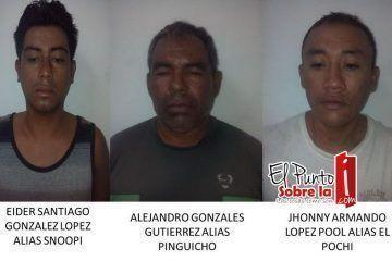 """Echan guante a integrantesdel cartel """"Los pelones"""""""