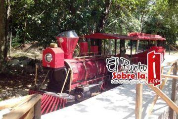 El Trenecito, corazón del zoológico Payo Obispo, vuelve a latir