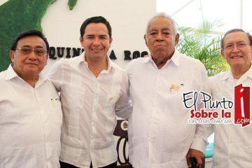 Quintanarroenses, pilar de nuestro Estado: Chanito Toledo
