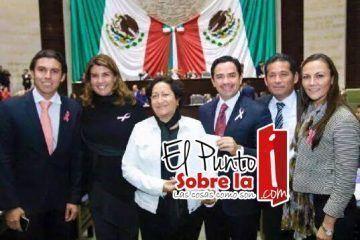 Diputados federales por Quintana Roo apoyan ala población por la contingencia climática