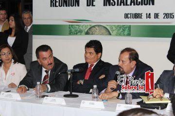 Asume la presidencia de la comisión de agricultura y sistemas de riego, el cenecista Germán Escobar