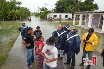 Chetumal sigue en contingencia por intensas lluvias