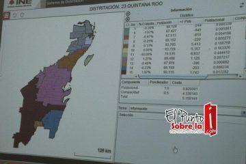 Más que planchado el nuevo mapa electoral de Quintana Roo