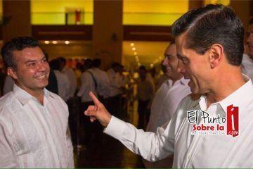 Enrique Peña Nieto, Roberto Borge Angulo y Mauricio Góngora de la mano por liderazgo en Riviera Maya
