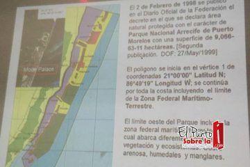 Habitantes de Puerto Morelos en puja por conservar límites del próximo municipio