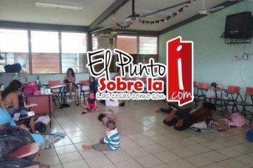 Llegan 100 a albergue de Coahuayana por Patricia