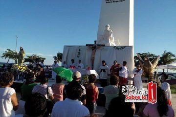 Rinden culto a San Judas Tadeo, patrono de Chetumal
