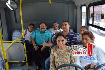 80 mil habitantes se benefician con el transporte urbano en Chetumal