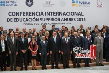 El rector de la UQRoo, Mtro. Ángel Rivero Palomo participa en la Conferencia Internacional de Educación Superior ANUIES 2015