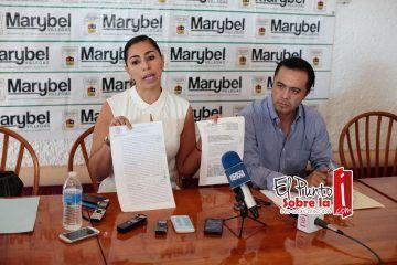 Interponen Marybel Villegas y Jorge Parra denuncias por amenazas