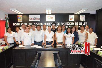 Ayuntamiento de Carrillo Puerto cumple para proteger a la niñez de zona maya