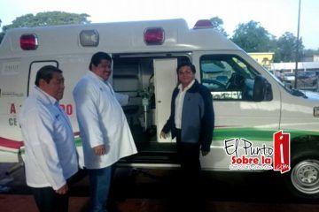 La comunidad de Dziuché ya tiene ambulancia