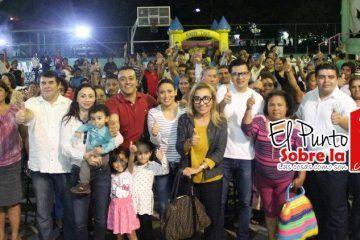 """Gran aceptación obtuvo la XIII brigada realizada por """"Fuerza Social"""" en Santa Elena"""