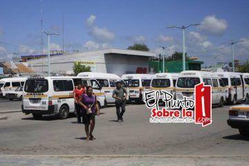 Subirá 1 peso la tarifa de las combis en Chetumal
