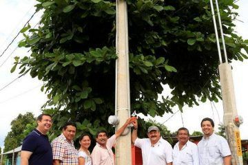 """""""35 comunidades beneficiadas con ampliación de red eléctrica"""" Abuxapqui"""