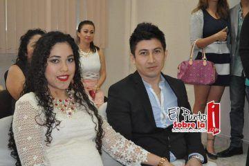 Oficializan su matrimonio José y Eunice