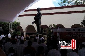 Honran memoria a Don Felipe Carrillo Puerto