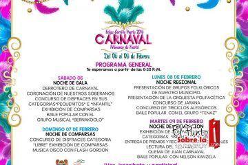 Presentan programa de Carnaval en FCP