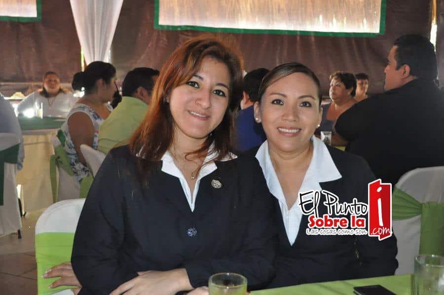 Elizabeth Castro Adame y Suemy de Pedro Herrera.