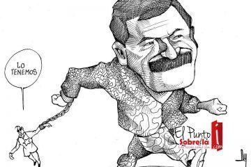LUY: Midiendo fuerzas #caricatura