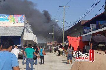 Arde la Zona Libre de Belice y pese al riesgo no dejaban entrar a los bomberos de Chetumal