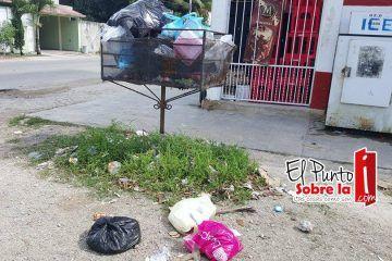 Fiestas decembrinas llenan de basura colonias de FCP