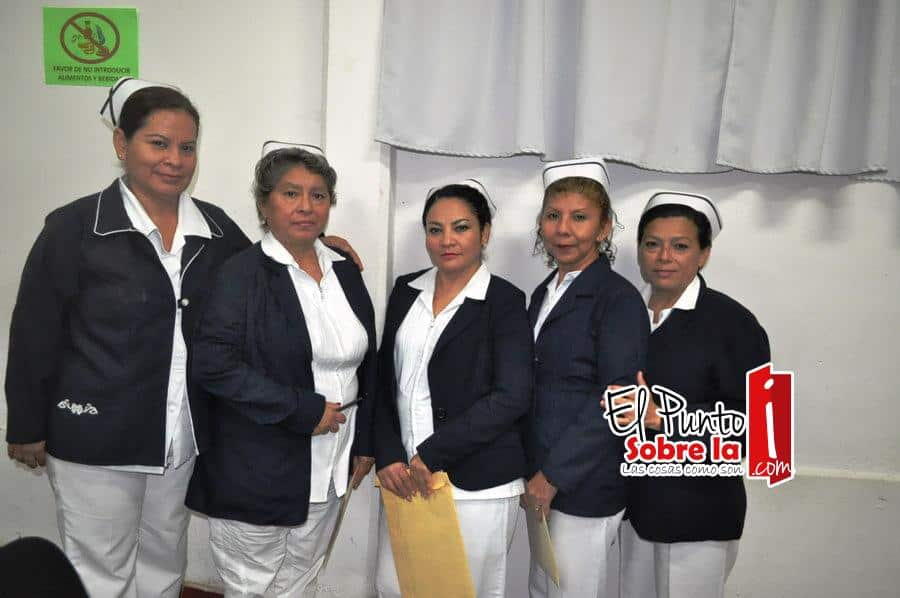 Marcela Guerrero Casares, Ruth Cárdenas Tejero, Cristina López Uribe, Orfelina Villamil Sierra y Lucely Cetina Uc.