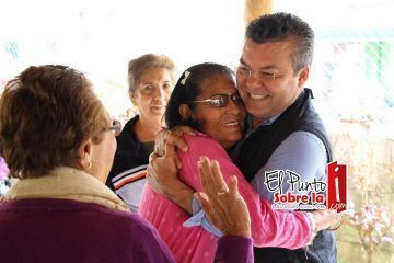Mauricio Góngora, cercano a los abuelitos de Solidaridad