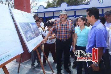 Anuncia Abuxapqui construcción de 4 domos deportivos