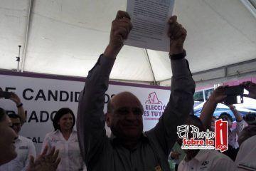 Rogelio Márquez se registra como candidato del PES a Gobernador de Q. Roo