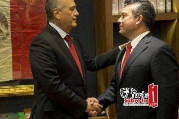 """Líder nacional del PRI """"apapacha"""" a Mauricio Góngora"""