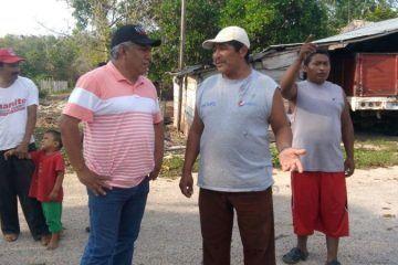 Pedro Pérez propone mejores niveles de vida para las comunidades morelenses
