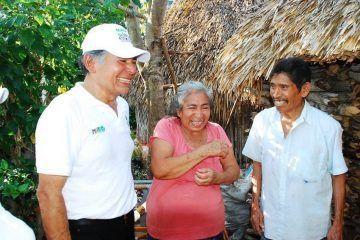Ofrece José Dolores Baladez Chi, un proyecto de todos y para todos