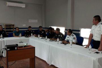 Se coordina trabajo en materia de seguridad en Solidaridad