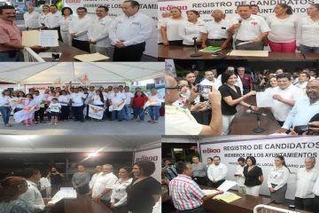 Recibe IEQROO solicitud de registro de aspirantes a candidatos para la elección de miembros de los ayuntamientos