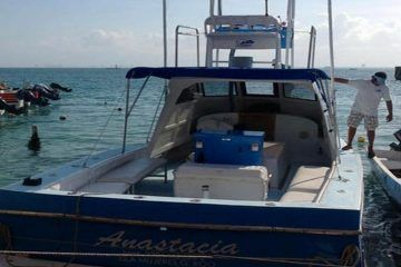 Encuentrancuerpo de pescador flotando en Mahahual. Es uno de los de Isla Mujeres?
