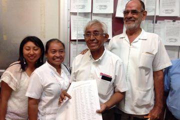 Morena registra a sus candidatos a presidencias municipales ante el IEQROO