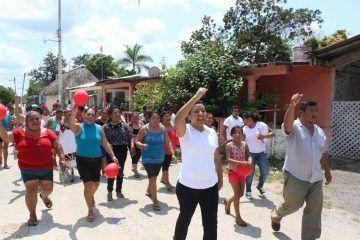 Recorre Paoly Perera más del 50 por ciento de las comunidades de FCP