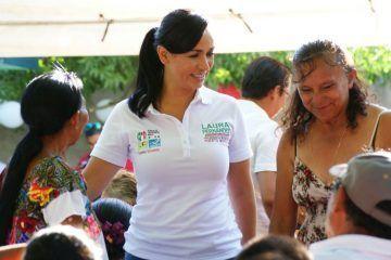En mi gobierno, las mamás tendrán todo el apoyo que requieran: Laura Fernández