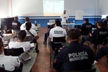 Solidaridad refuerza capacitación a elementos de Seguridad Pública y Tránsito