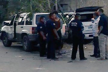 Felipe Calderón sufre accidente vial en Quintana Roo