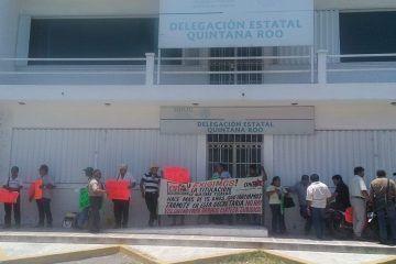 Campesinos exigen a SEDATU otorgue certeza legal de sus tierras