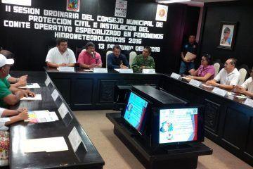 Instalan Comité en caso de Huracanes