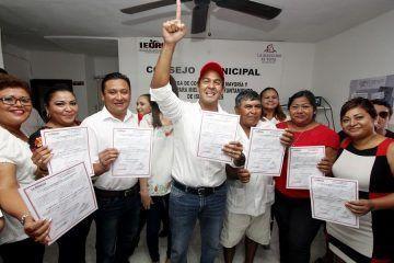 Juan Carrillo Soberanis trabajará para proyectar el liderazgo de Isla Mujeres