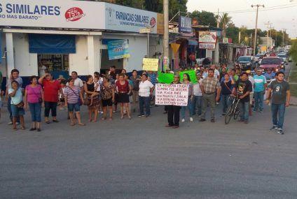 Marcha la CNTE en FCP contra la Reforma Educativa
