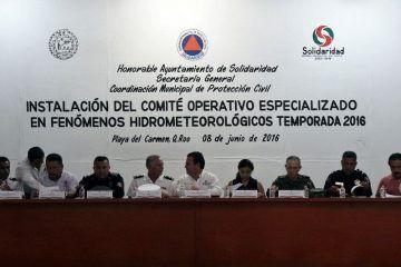 Garantiza Rafa Castro la seguridad ciudadana en temporada de huracanes 2016