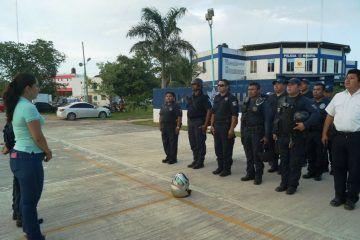 Policía municipal de Othón P. Blanco opera con normalidad