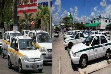 Terminarán los problemas de los taxistas de Q. Roo?