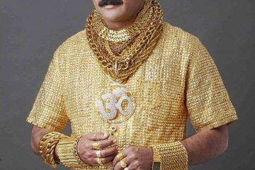 Asesinan al millonario indio famoso por la camisa de oro más cara del mundo